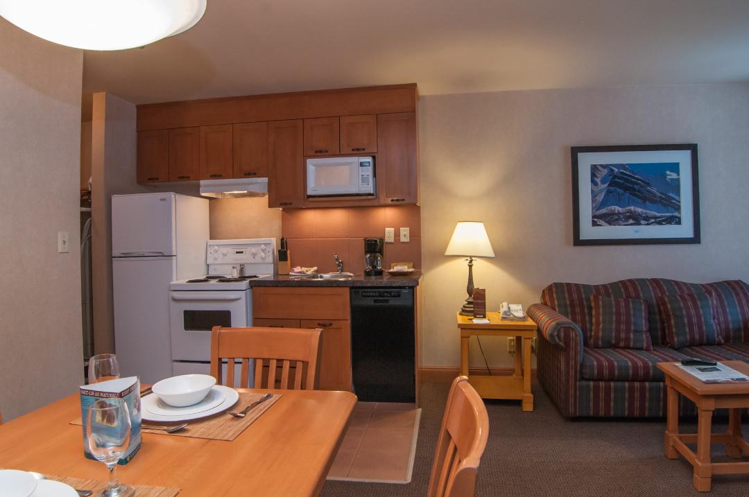 one bedroom condo. Deluxe One Bedroom Condo  Hidden Ridge Resort Banff