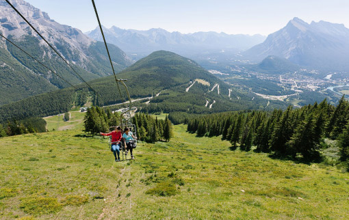 Norquay Sightseeing Chairlift
